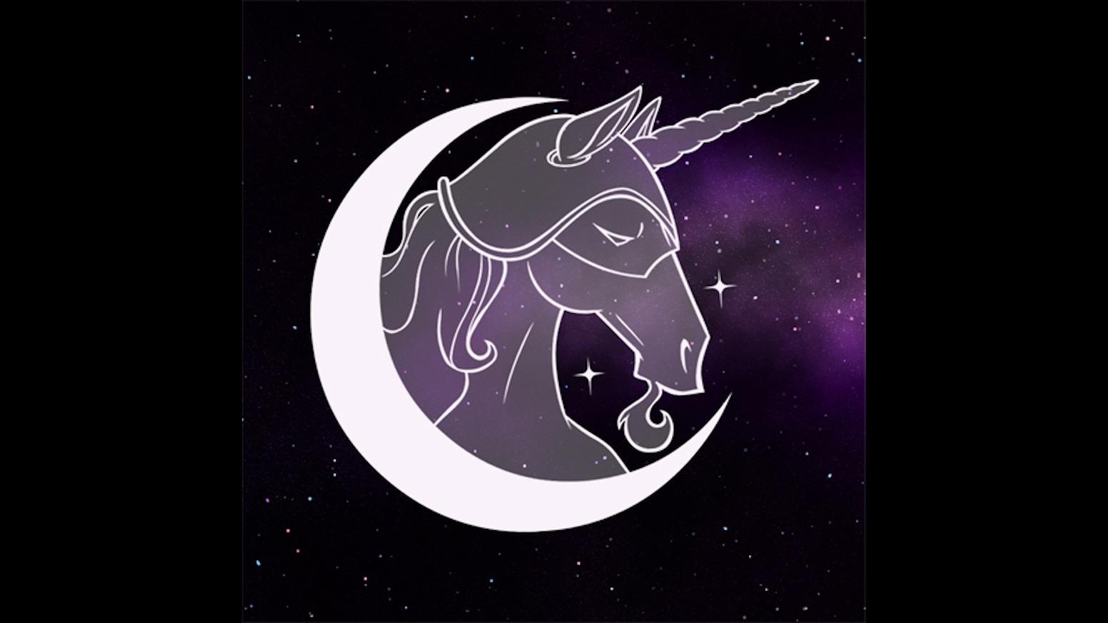 Bike stickers design for unicorn - Uncanny Magazine Year Two