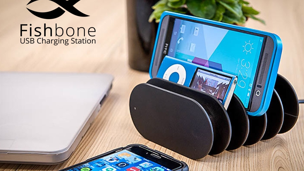 Fishbone Charging Station – Tidy Up and Charge Up! project video thumbnail