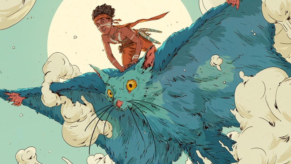 Australi - Fantasy Australia Comic Series - FIRST BIG ISSUE project video thumbnail