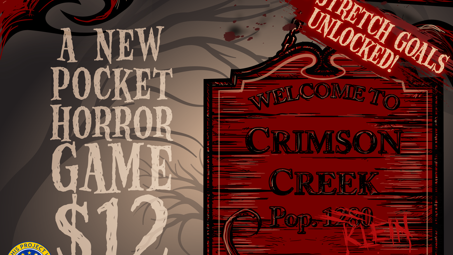 RUN... PEEK... HIDE... SURVIVE. A semi-cooperative pocket horror game of fear and deduction for 2-6 players.
