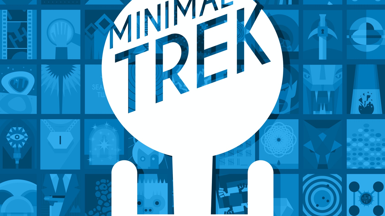 Minimalist poster designs inspired by all 3 seasons of the original Star Trek television series.