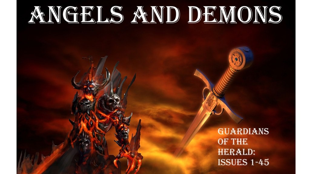 Angels and Demons: Guardians of the Herald Issues 1-45 project video thumbnail