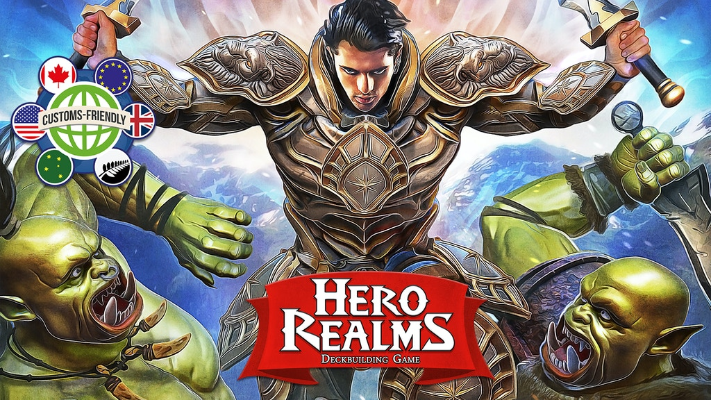 Hero Realms, a Deckbuilding Adventure Card Game project video thumbnail