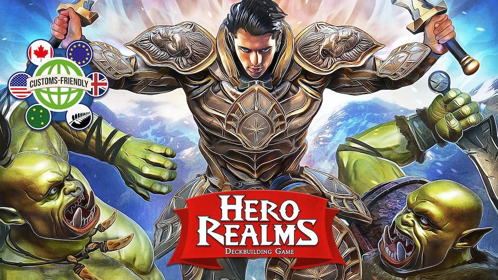 Hero Realms, a Deckbuilding Adventure Card Game miniatura de video del proyecto