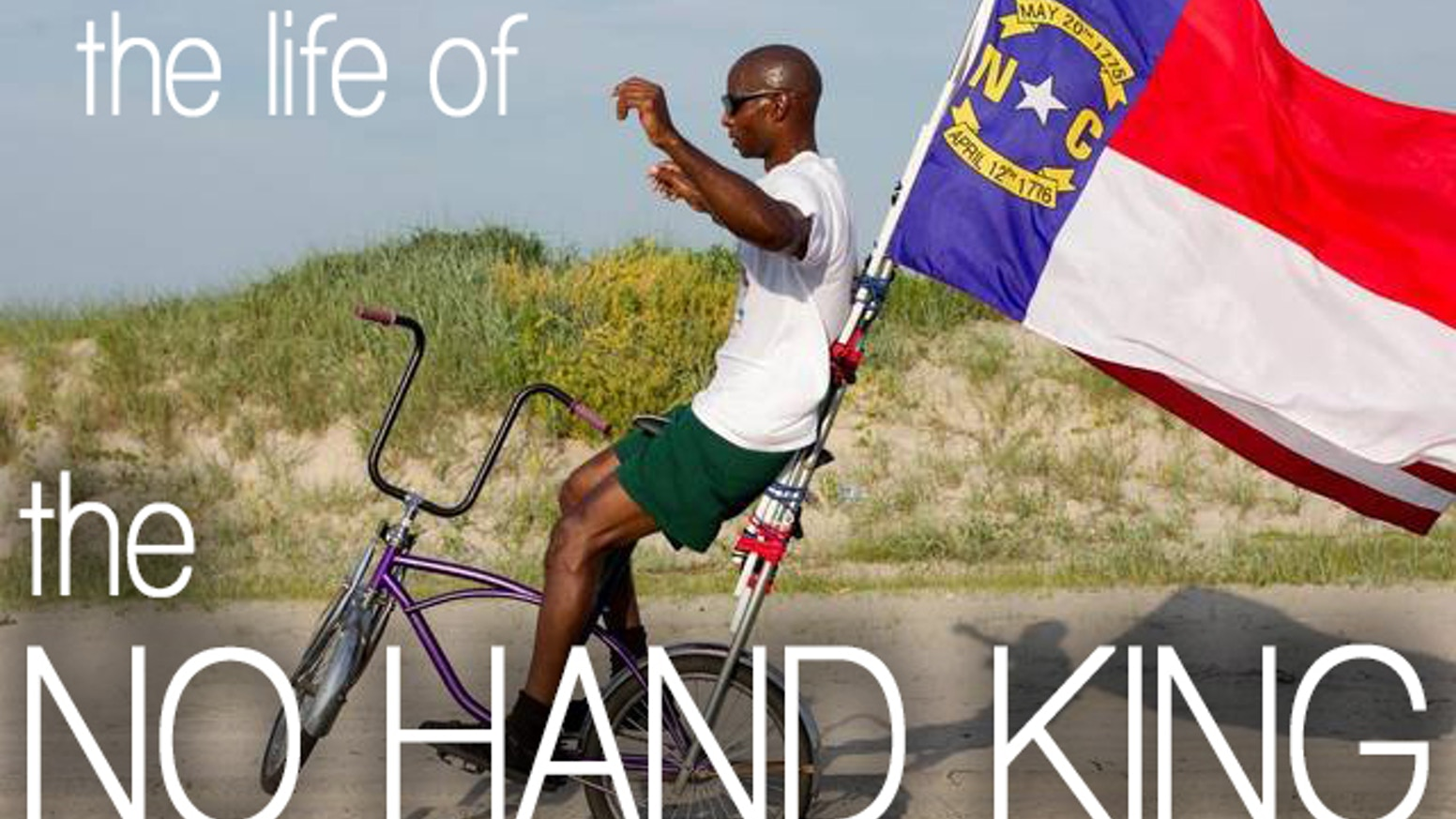 Rodney Hines, the No Hand King tells his story of struggle and triumph riding the longest no hand bike wheelie. Be a part of history!