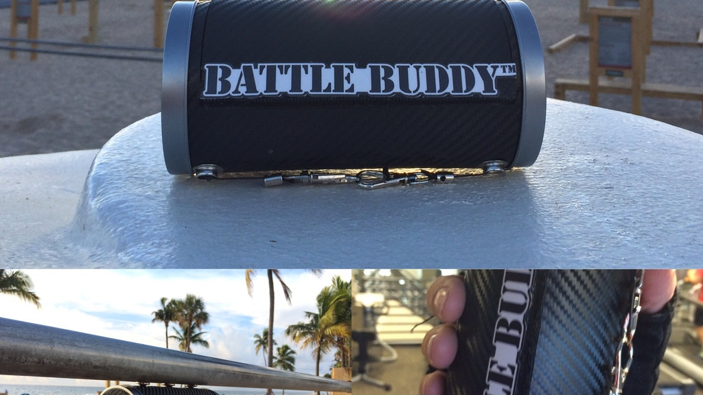 BattleBuddy FitCase,Magnetic,Retracting,Versatile Sport Case