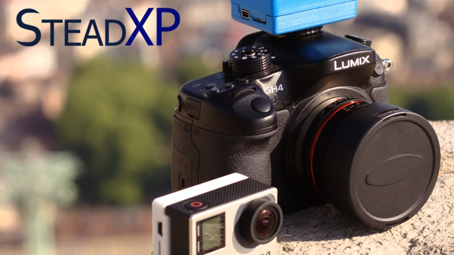 SteadXP, a startup 100% made in France, develops the 1st plug&play video stabilizer. It combines a motion recording device with a powerful post-treatment software, to provides to everyone smooth shots of professional quality.