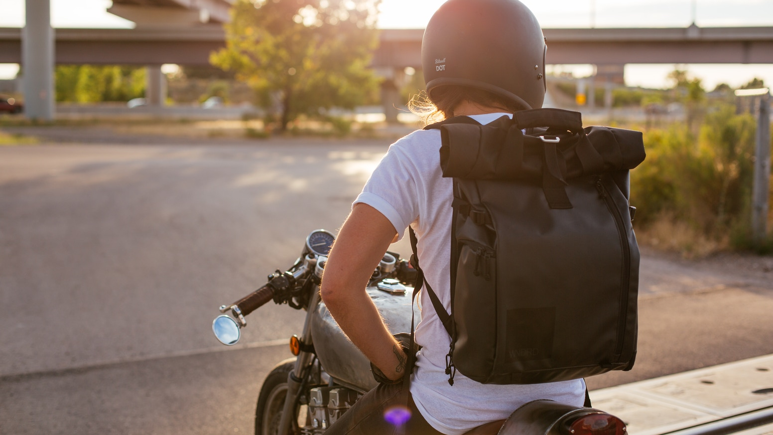 A travel/photography backpack designed so your attention is focused on where you are and not what you're carrying.