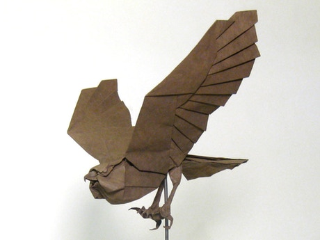 Support The Creation Of An Origami Studio Art Transforming A Single