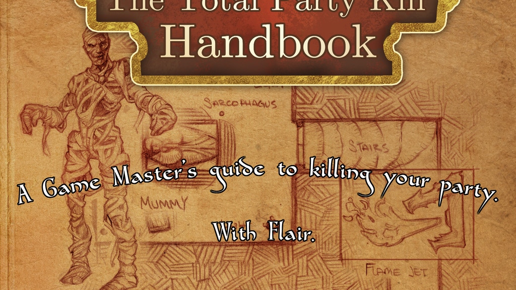Total Party Kill Handbook: 5th Edition Encounters and Traps project video thumbnail