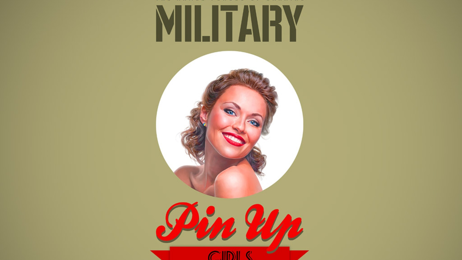 Military Pin Up Girls calendar to support the Armed Forces of Ukraine