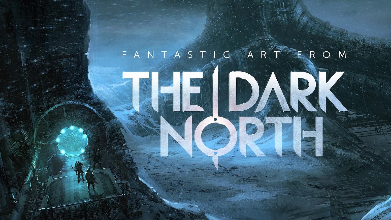 The Dark North Illustrated Nordic Sci Fi Fantasy By