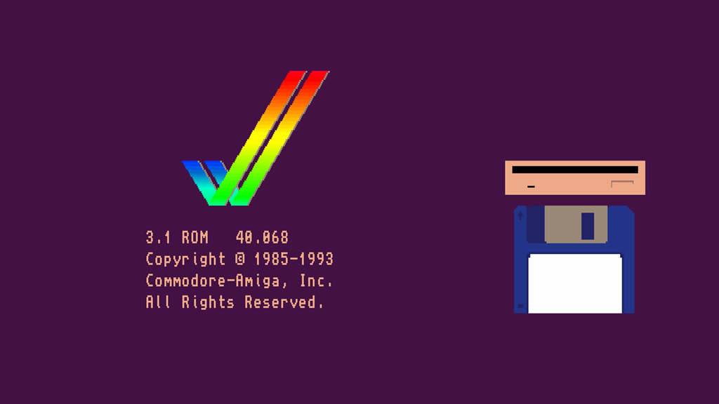 Project image for Kickstart the (Commodore) Amiga hardware and develop further