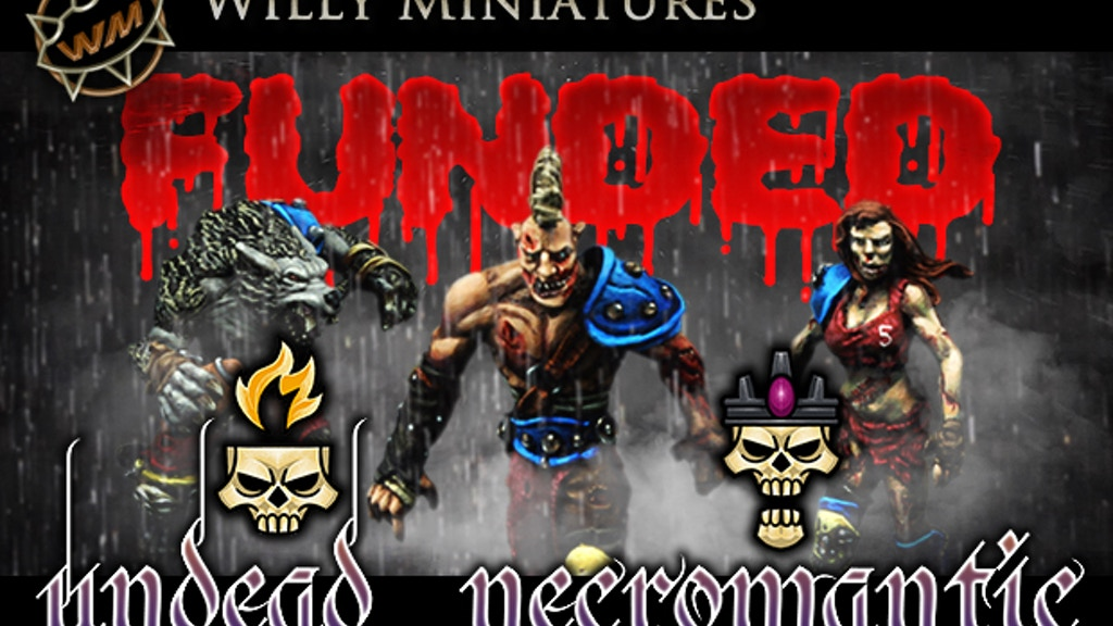 Willy Miniatures Necromantic - Undead Fantasy Football Team project video thumbnail