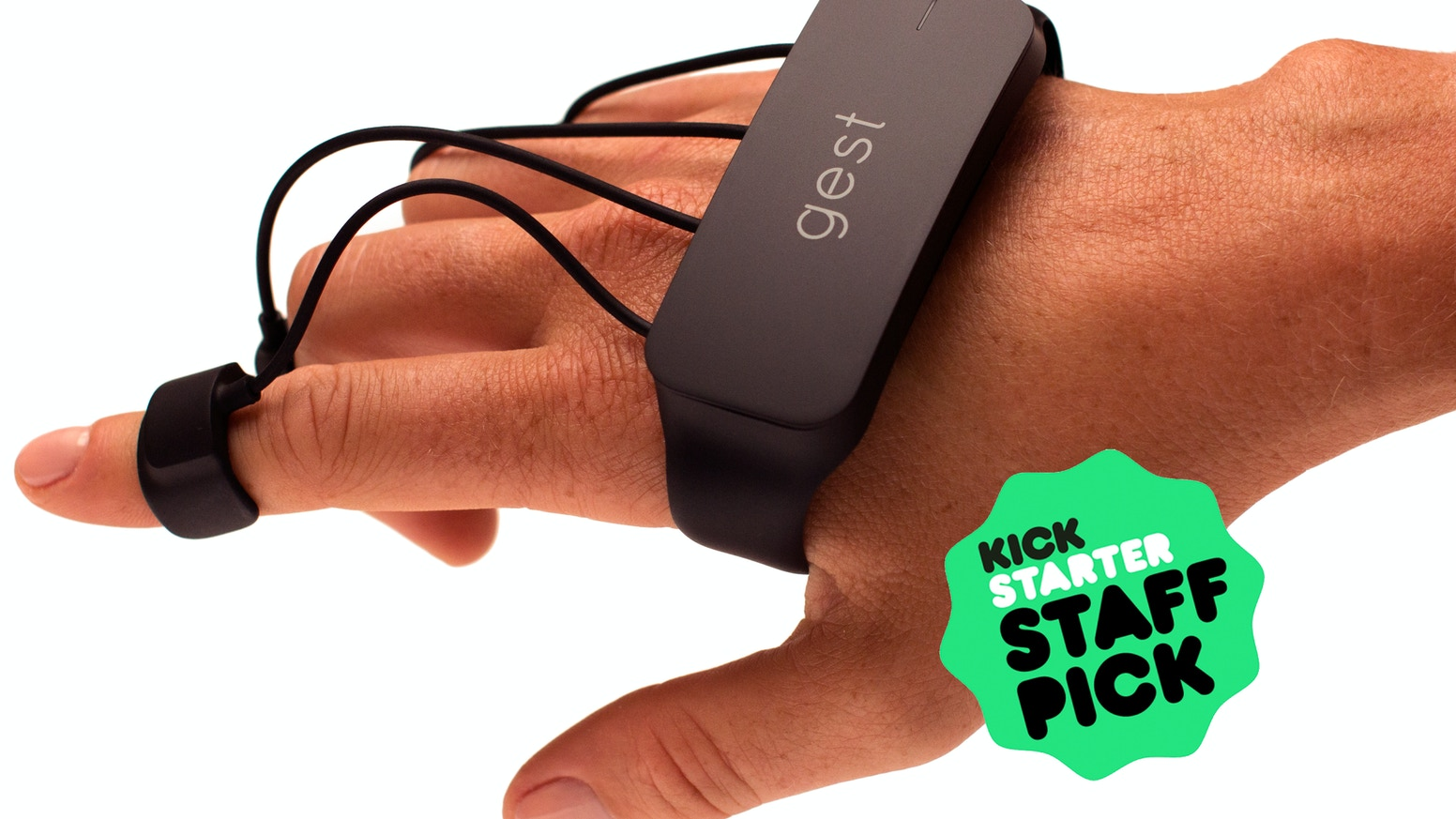 Gest is a wearable device that allows you to control your computer or mobile device with your hands.