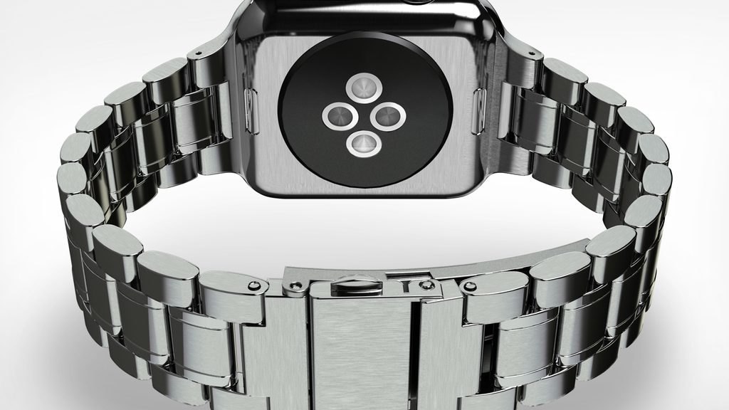 HyperLink $49 Apple Watch Stainless Steel Link Bracelet Band project video thumbnail