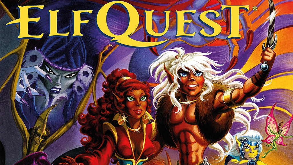 Art of Elfquest & Line of Beauty by Wendy and Richard Pini project video thumbnail