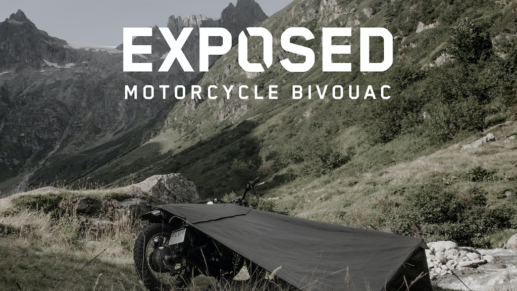 Exposed - Motorcycle Bivouac project video thumbnail