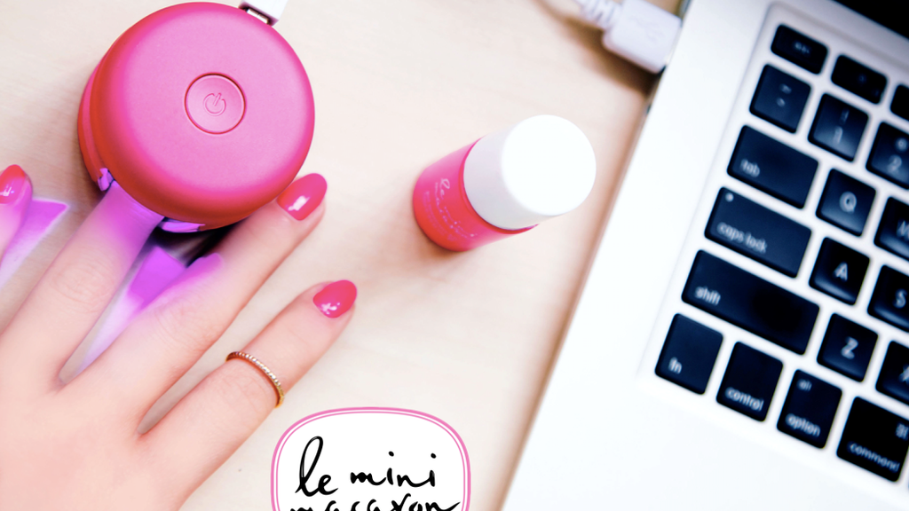 LE MINI MACARON - DIY Gel Manicure Kits for Busy Women project video thumbnail