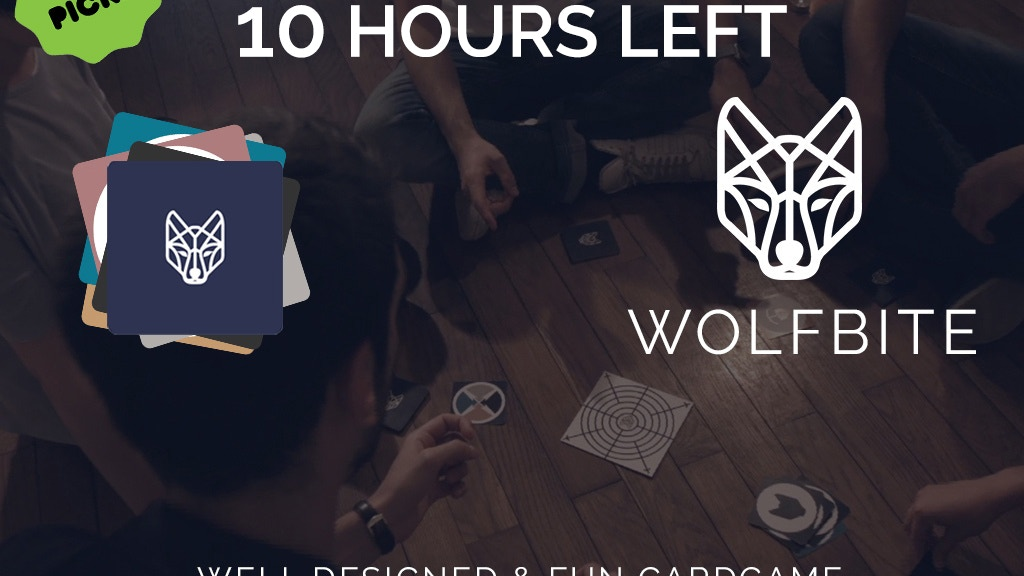 Wolfbite Card Game - Focus & Speed project video thumbnail