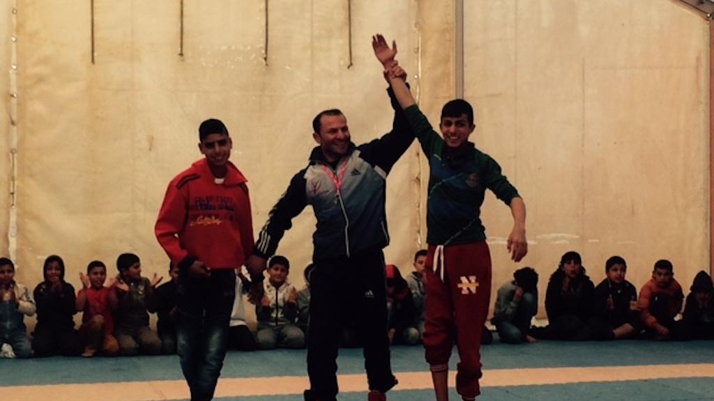 Hope Amid Despair in Jordan's Za'atari Refugee Camp project video thumbnail