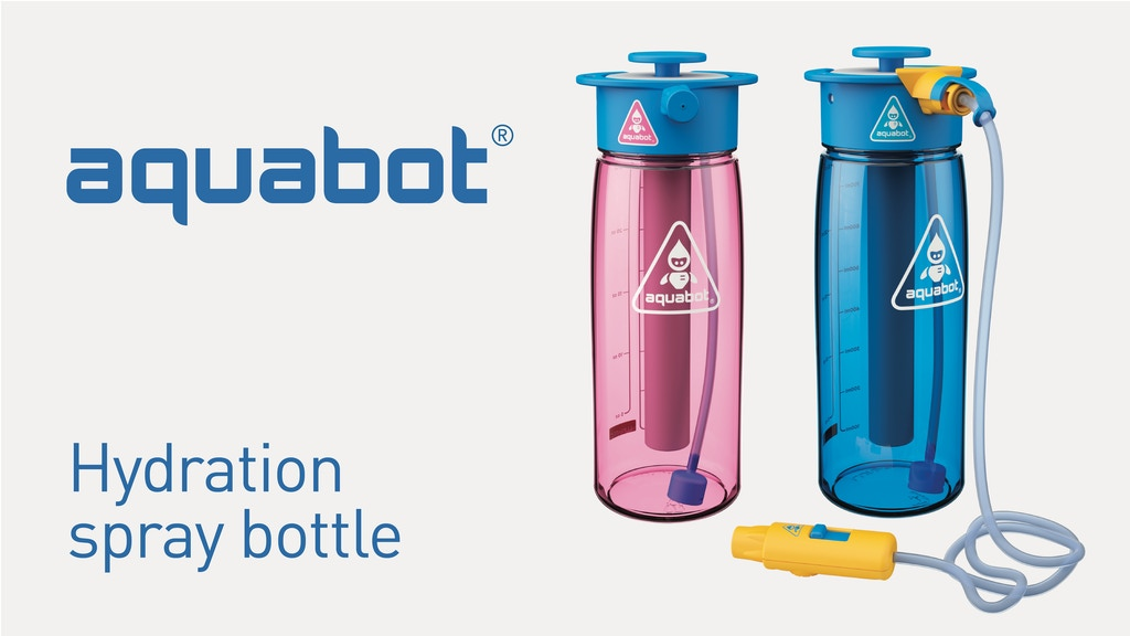 Aquabot: Super Hydration Spray Water Bottle System project video thumbnail