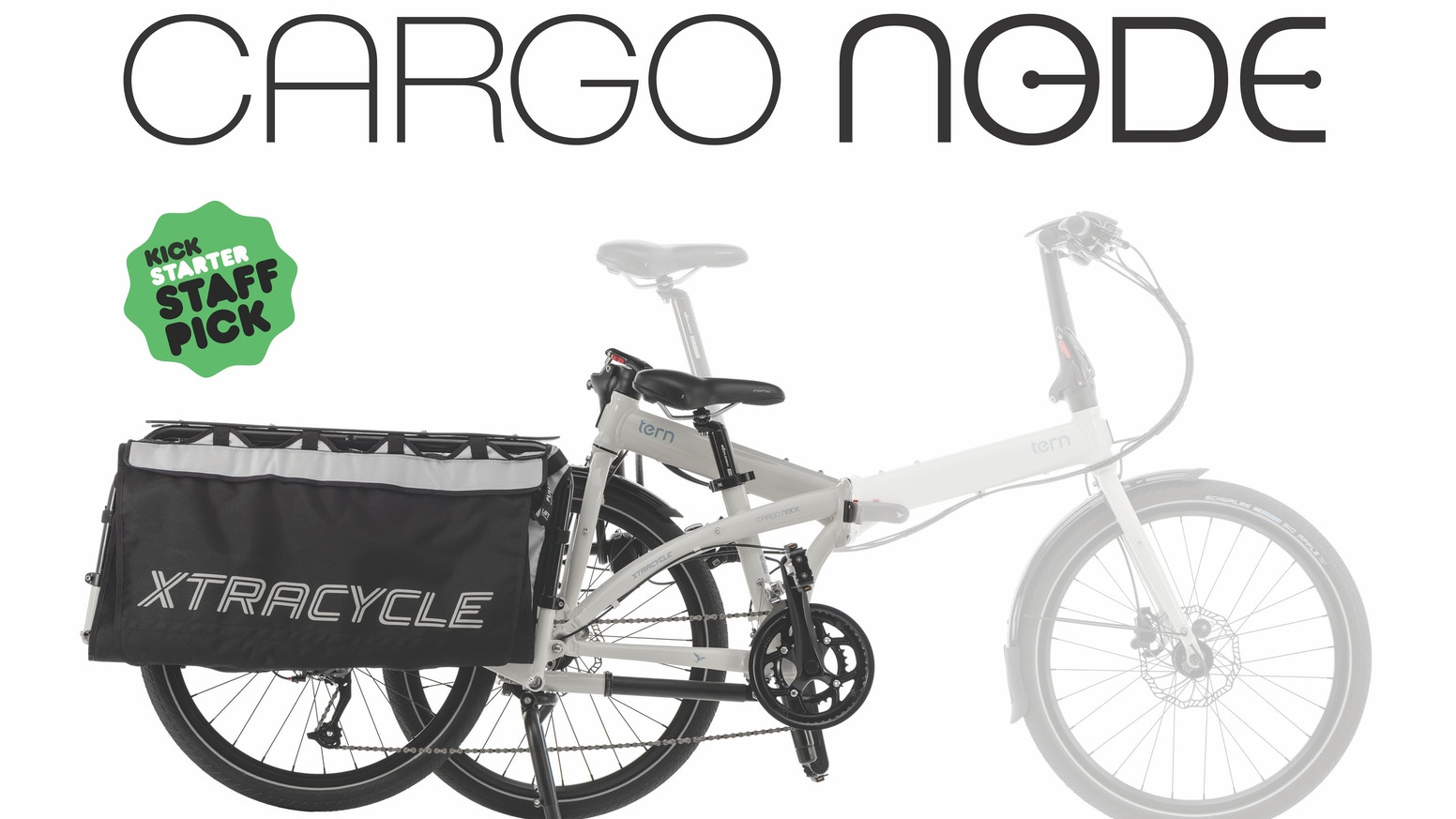 Massive cargo capacity in a bike that folds down to 1/3 of its size—in 10 seconds—for compact storage and easy transport.
