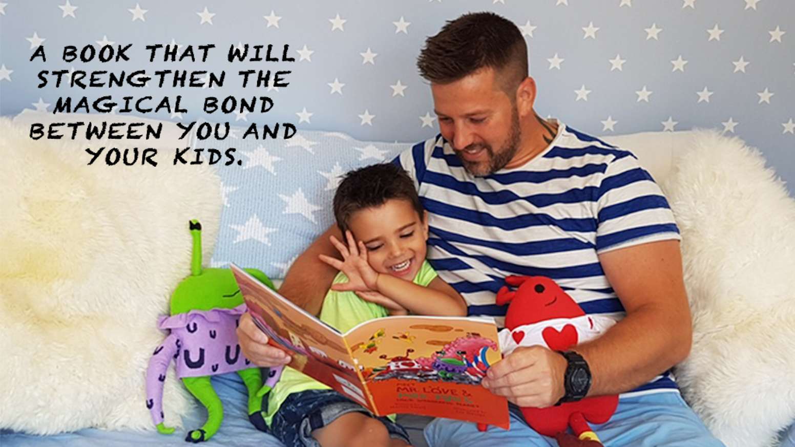"""A colourful and wacky children's book that signifies the magical bond between parent and child. Get your copy now!"""