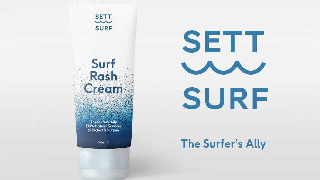 SETT Surf Rash Cream: Soothe the burn and enjoy every surf. project video thumbnail