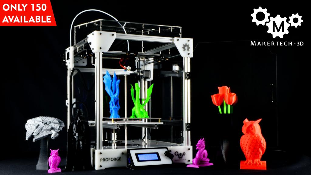 Proforge 3D Printer project video thumbnail