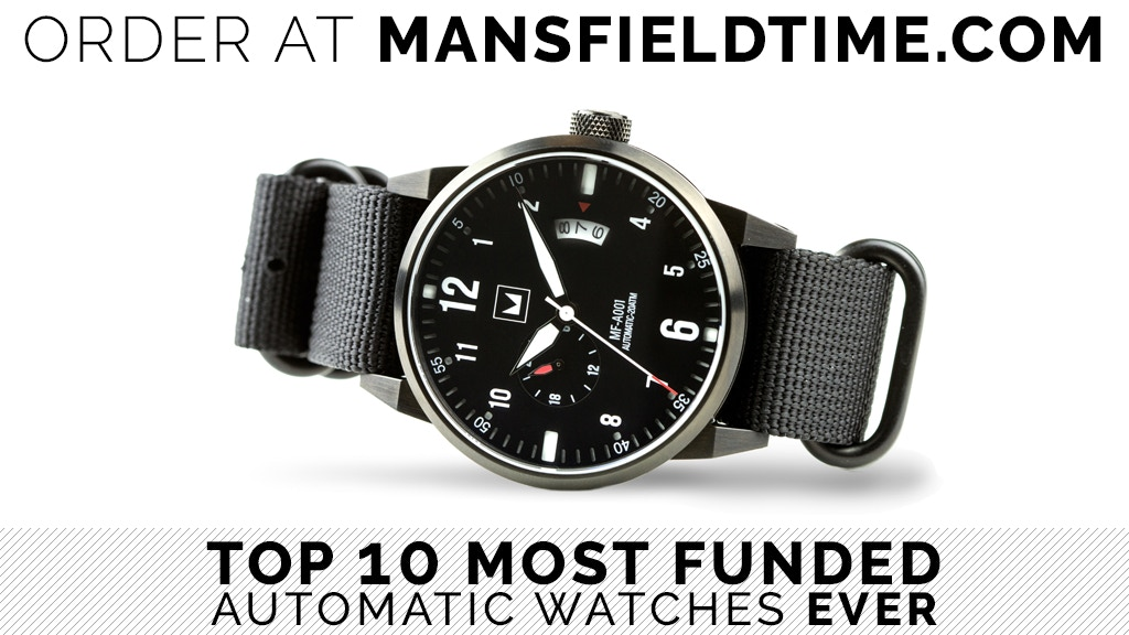 AUTOMATICA ONE Dive Watch by Mansfield Time project video thumbnail