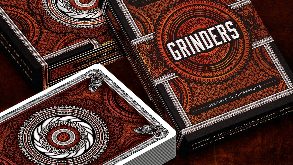 Project image for Grinders Playing Cards (Canceled)