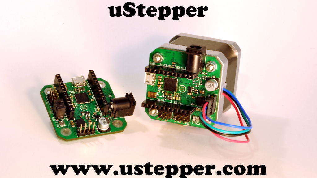 uStepper project video thumbnail