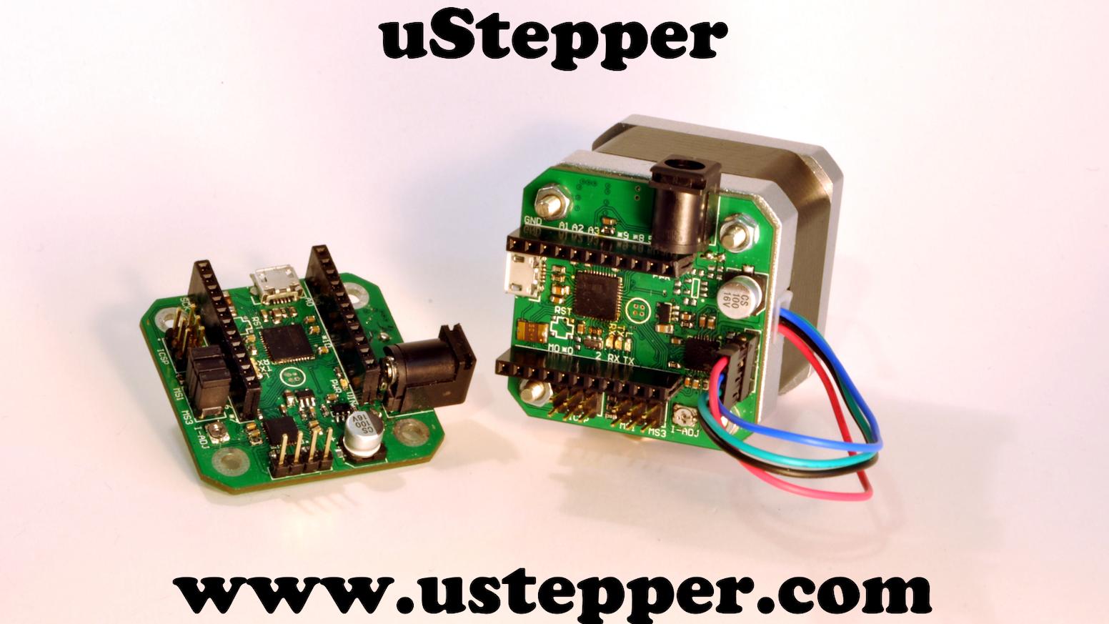 uStepper by ON Development IVS — Kickstarter