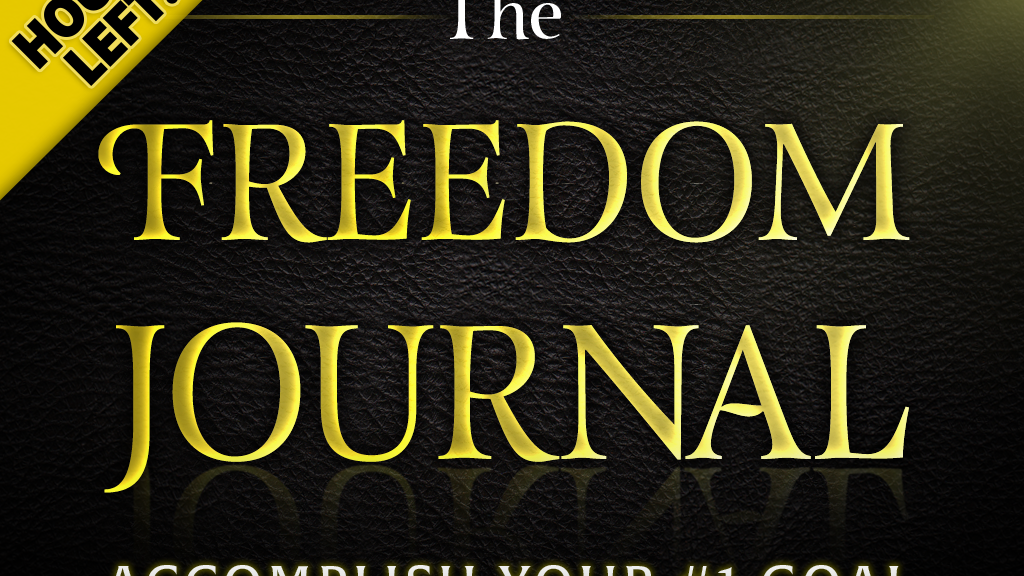 The freedom journal accomplish your 1 goal in 100 days by john lee the freedom journal accomplish your 1 goal in 100 days project video thumbnail fandeluxe Gallery