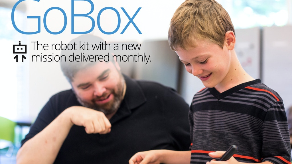 GoBox: The robot kit with a new mission delivered monthly. project video thumbnail