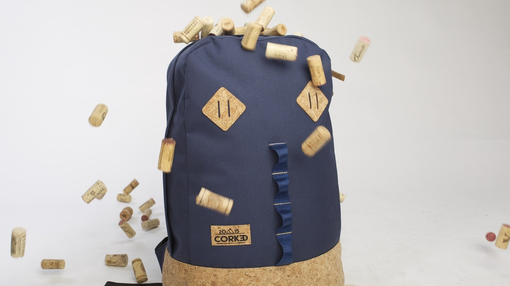 Project image for Corked: Backpacks Made With Real Cork! (Canceled)