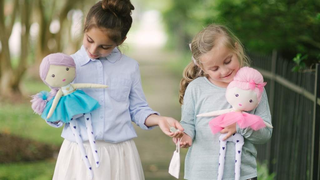 The Doll Kind: Dolls that empower children to share kindness project video thumbnail