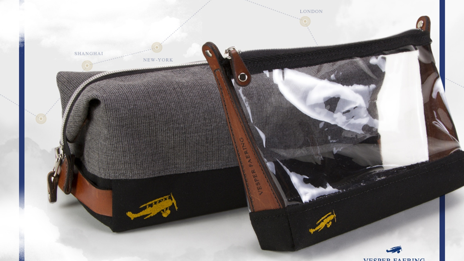 e95a3c5402a0 The Sidecar: A toiletry bag for the discerning traveller by Vesper ...