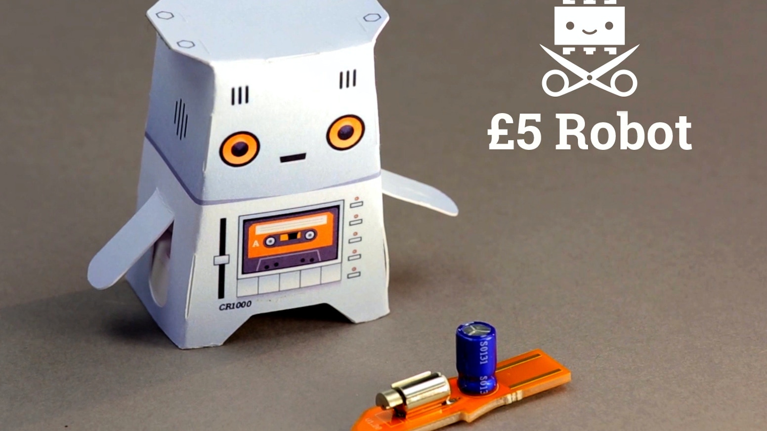 Your own robot for only £5! 100% battery free and the basis for infinite figures of your own invention. Turn anything into a Robot!
