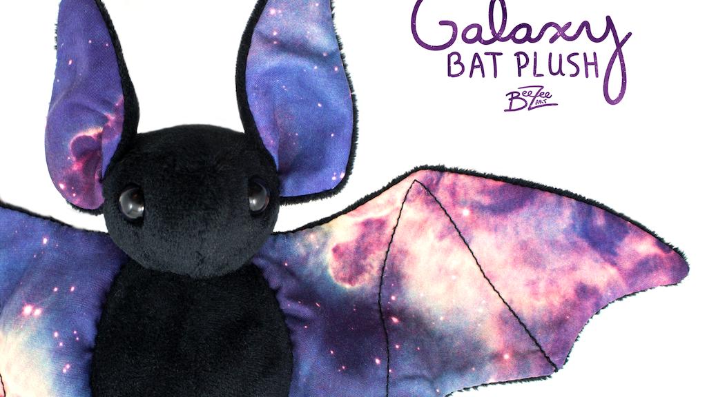 Galaxy Bat Plushies project video thumbnail