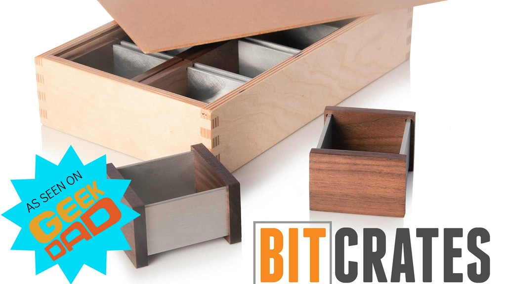 BitCrates - Component Boxes For Board Game Play project video thumbnail