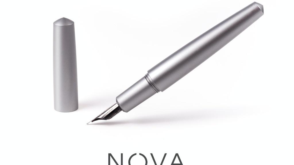 Nova Minimal Fountain Pen project video thumbnail