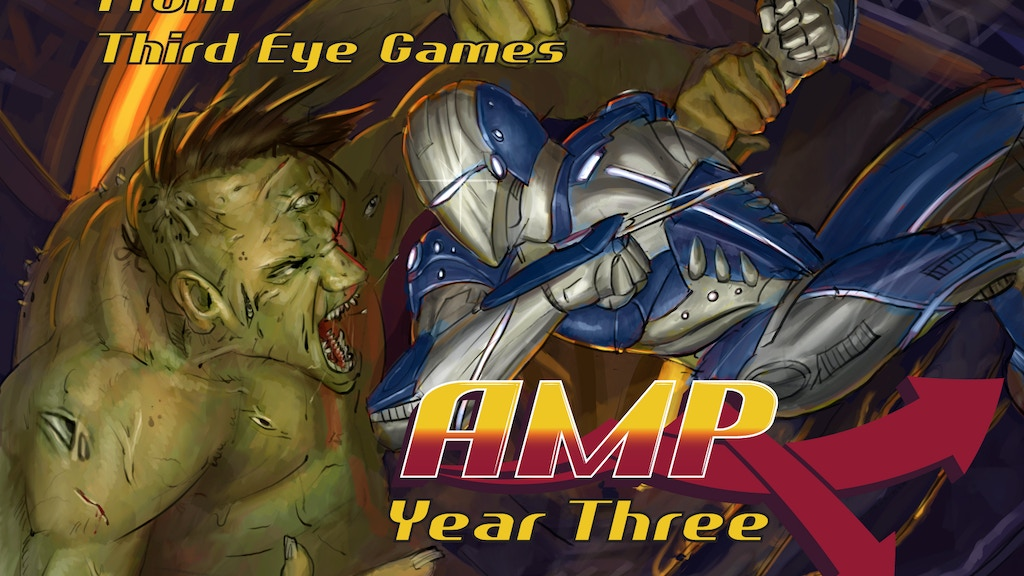 AMP: Year 3, The War of 2017 is Here! (Modern Supers RPG) project video thumbnail