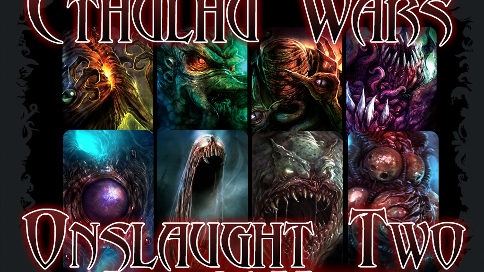 Cthulhu Wars is the premiere horror strategy game with high quality miniatures and great competitive gameplay and tactics.
