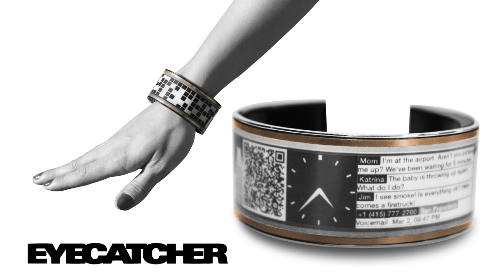 Eyecatcher: The Smart, Large-Display, Super-Charged Wearable project video thumbnail
