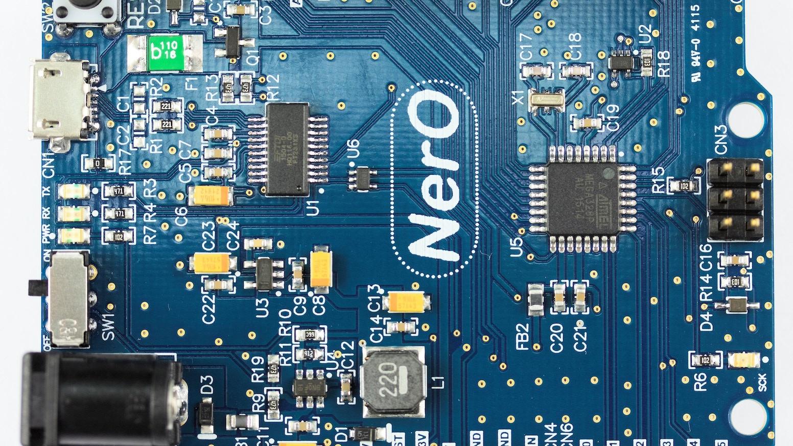 NerO - An Energy Efficient Arduino UNO Compatible Design by FTDI Ltd ...