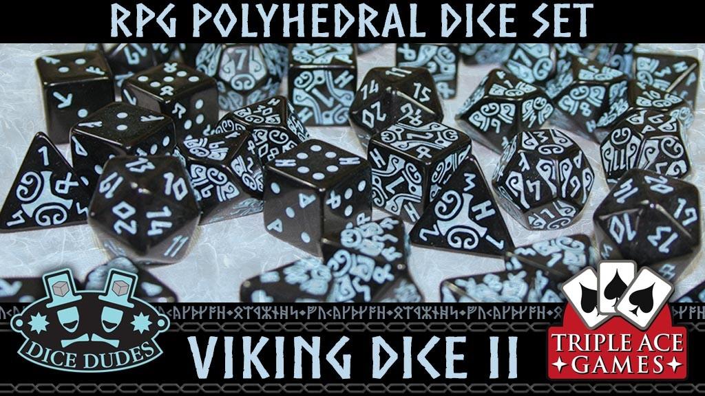 Polyhedral Dice Set: Viking Dice II