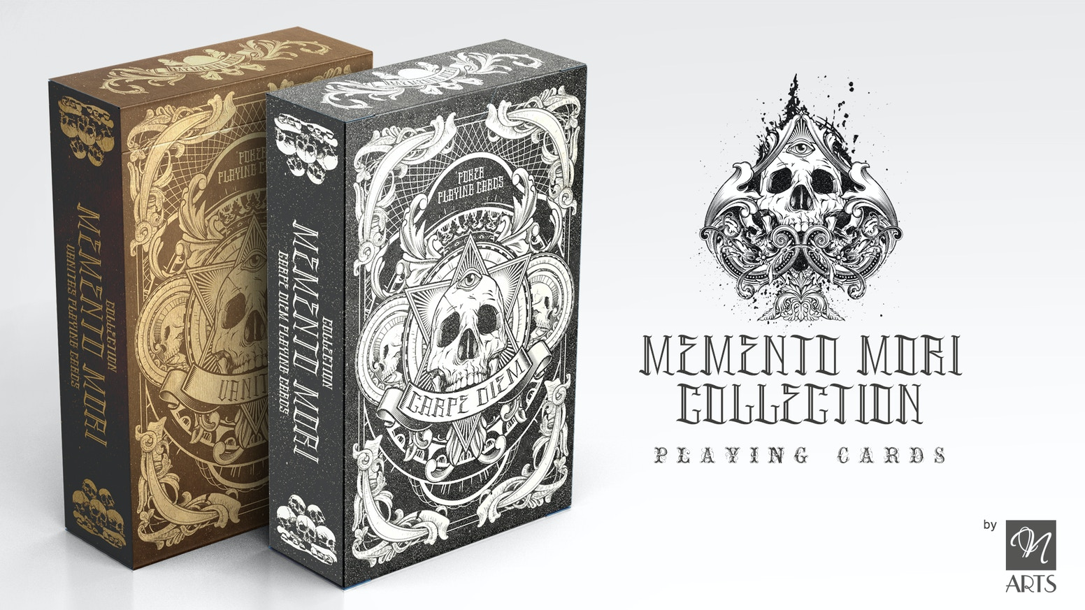 54 Custom Hand Drawn Playing Cards, That Reminds About The Vanity Of Earthly Life