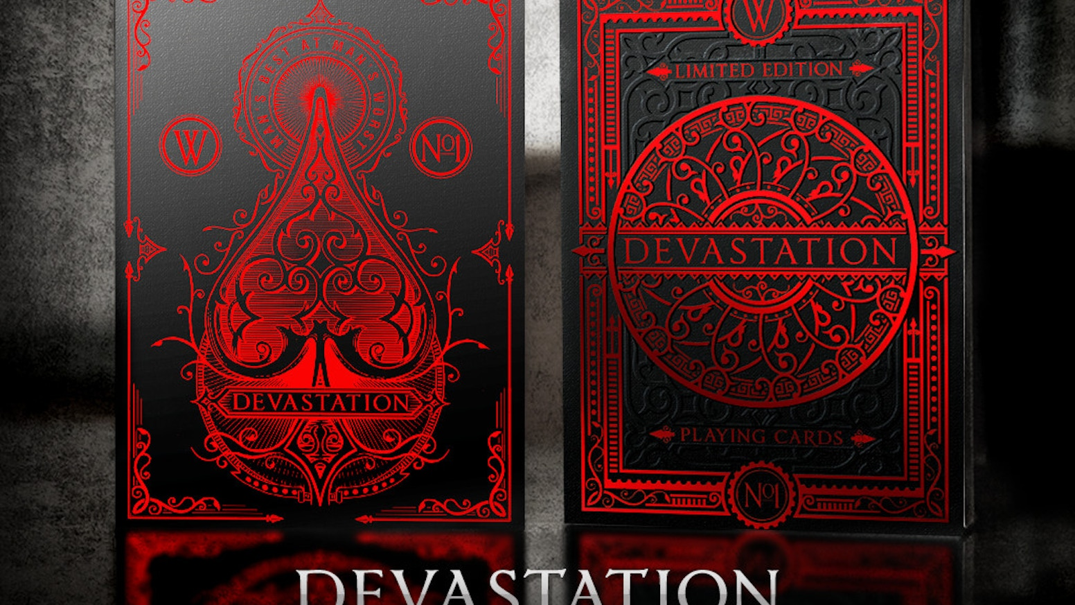 An elegant set of playing cards that depict the men who invented weapons of devastation and the women who rescued the victims.